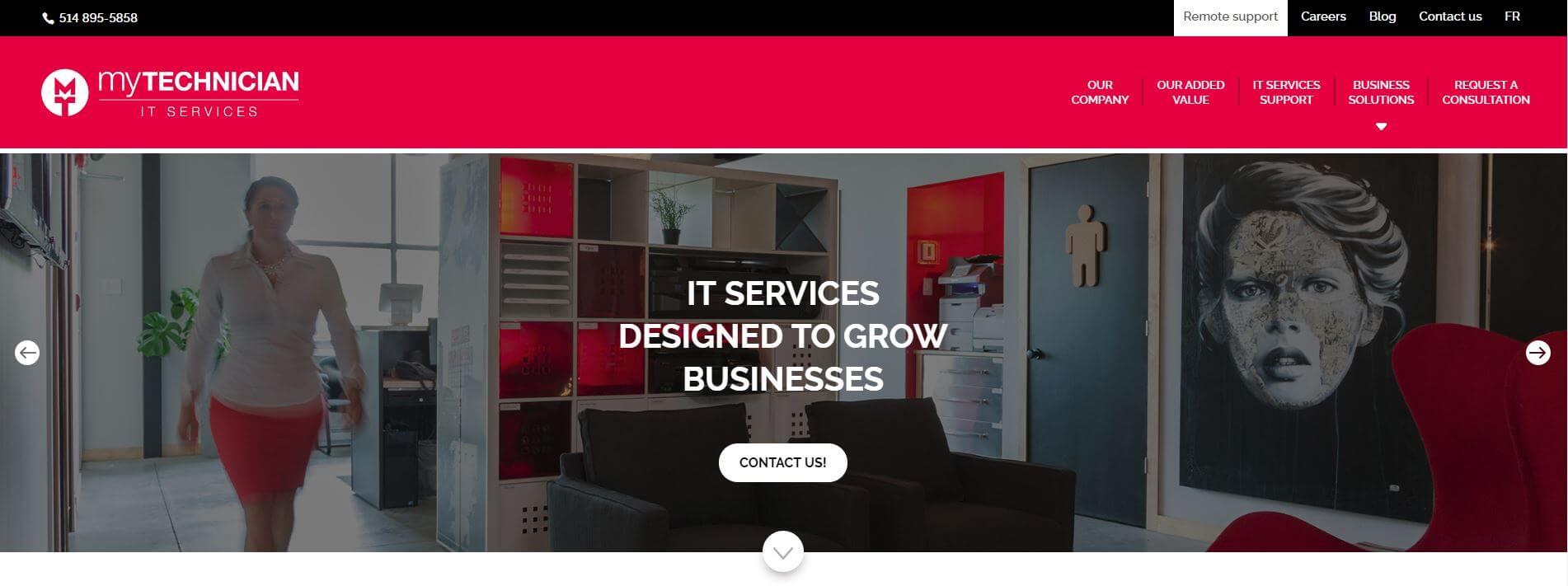 The new My Technician website is online!
